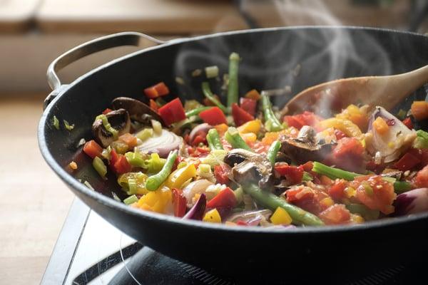 A healthy stir fry