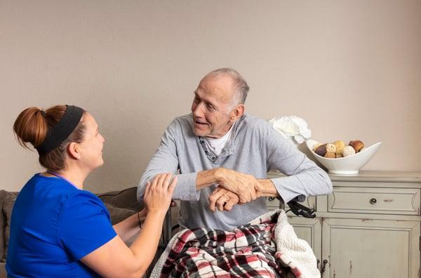 Hospice patient